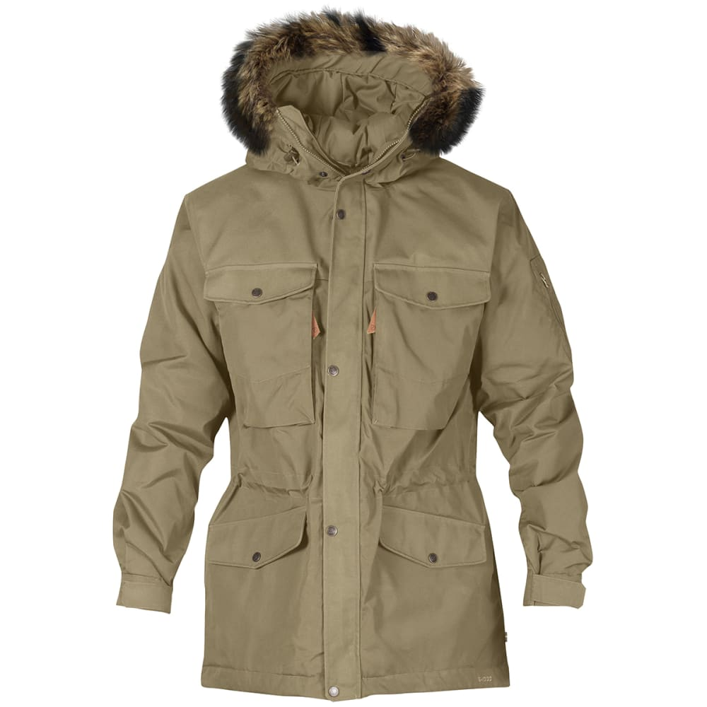 FJALLRAVEN Men's Sarek Winter Jacket - SAND 220