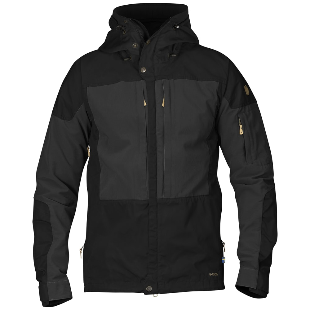 FJALLRAVEN Men's Keb Jacket - BLACK 550