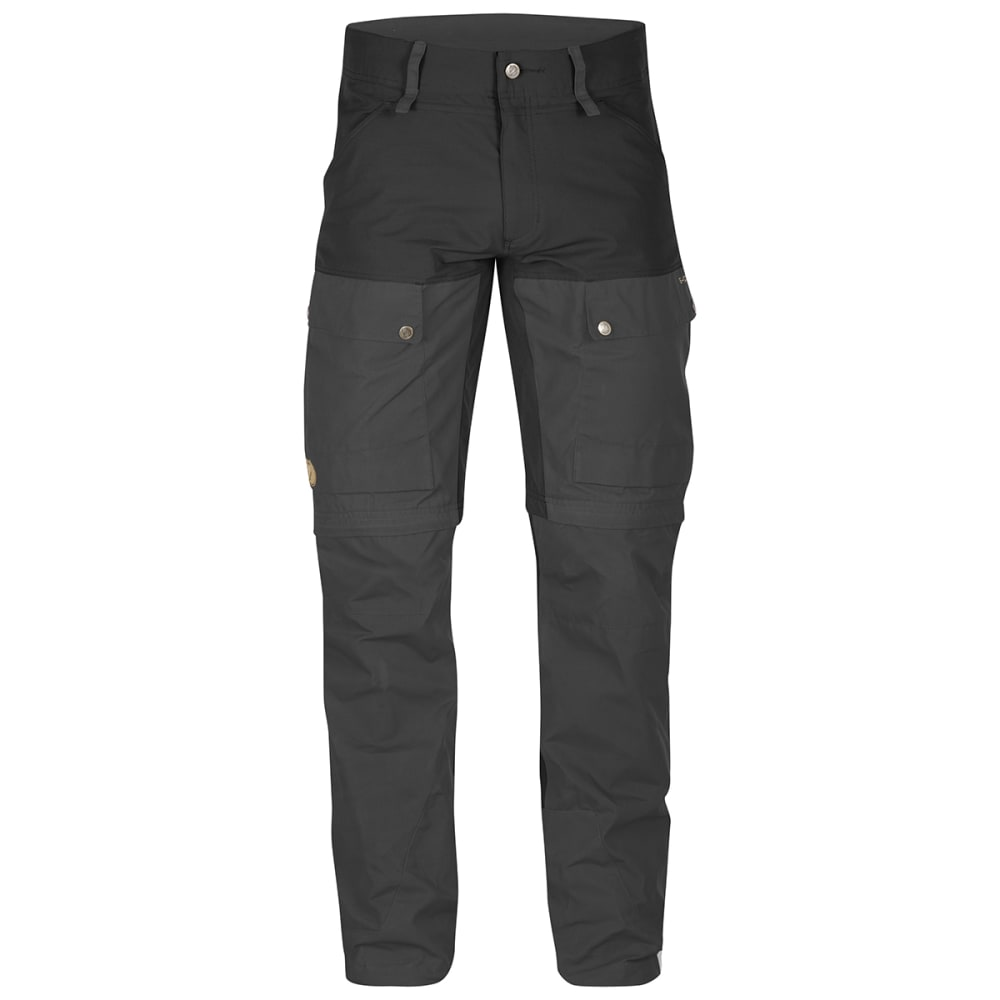 FJALLRAVEN Men's Keb Gaiter Trousers - BLACK 550