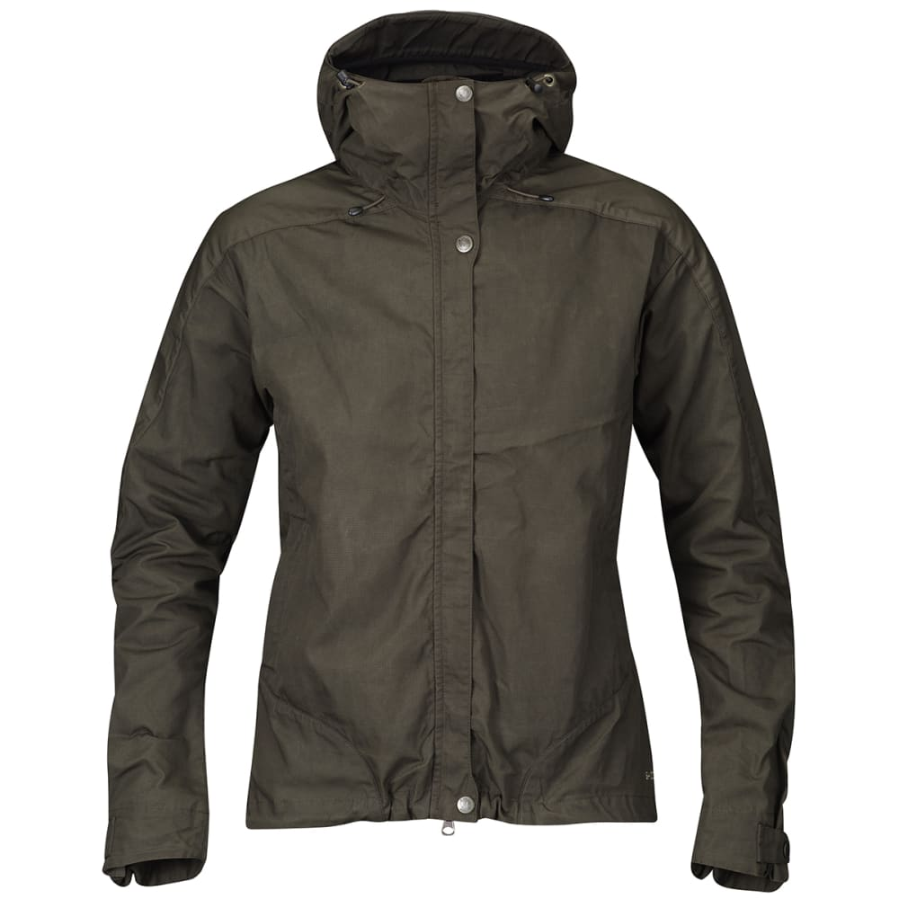 FJALLRAVEN Women's Skogso Jacket - DARK OLIVE 633