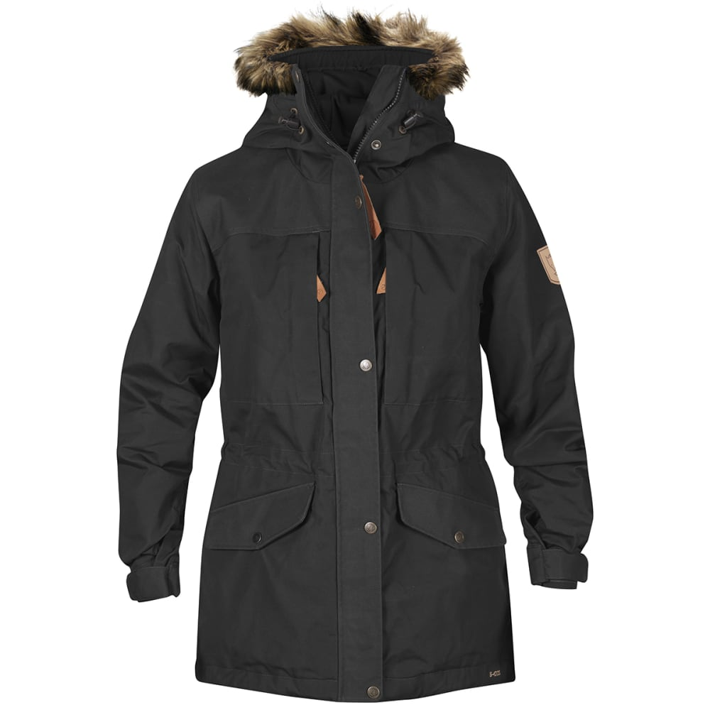 FJALLRAVEN Women's Sarek Winter Jacket - DARK GREY 30