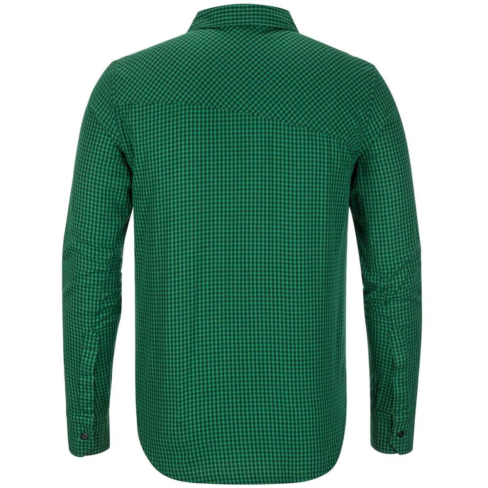 BLACK DIAMOND Men's Spotter Long-Sleeve Shirt - Oscar/ hmlock gingha
