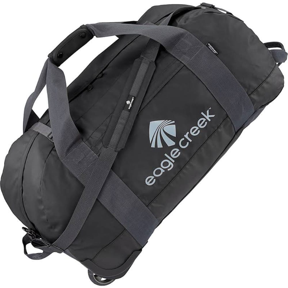 EAGLE CREEK No Matter What Rolling Duffel, Large - BLACK