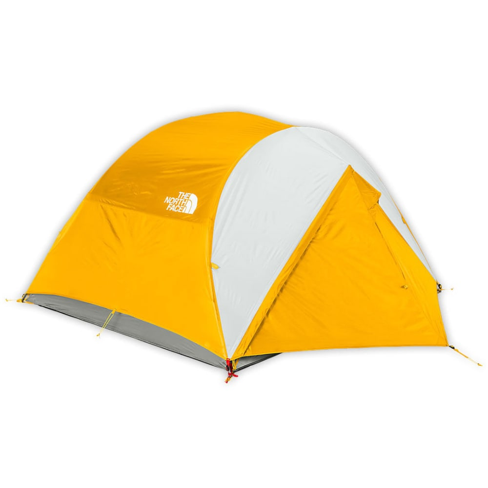 THE NORTH FACE Talus 4 Tent - CASTOR GREY/YELLOW