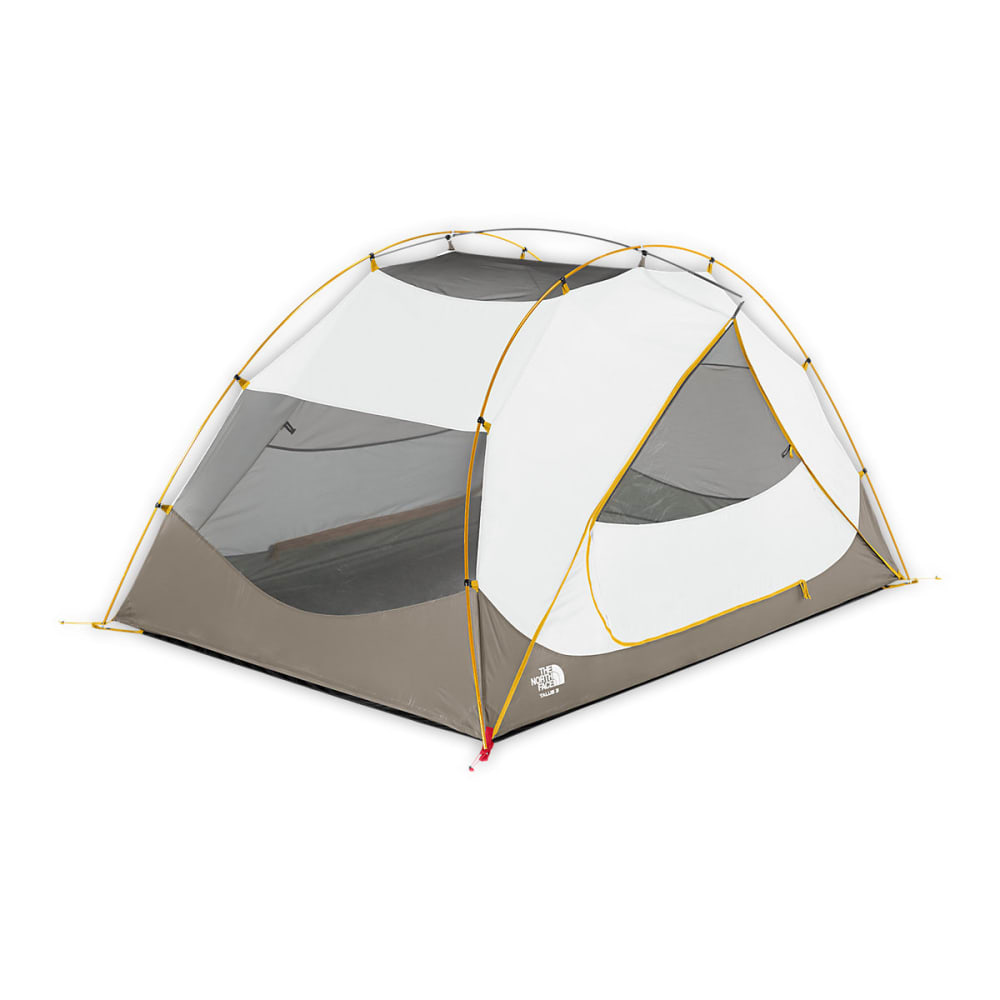 THE NORTH FACE Talus 3 Tent - CASTOR GREY/YELLOW