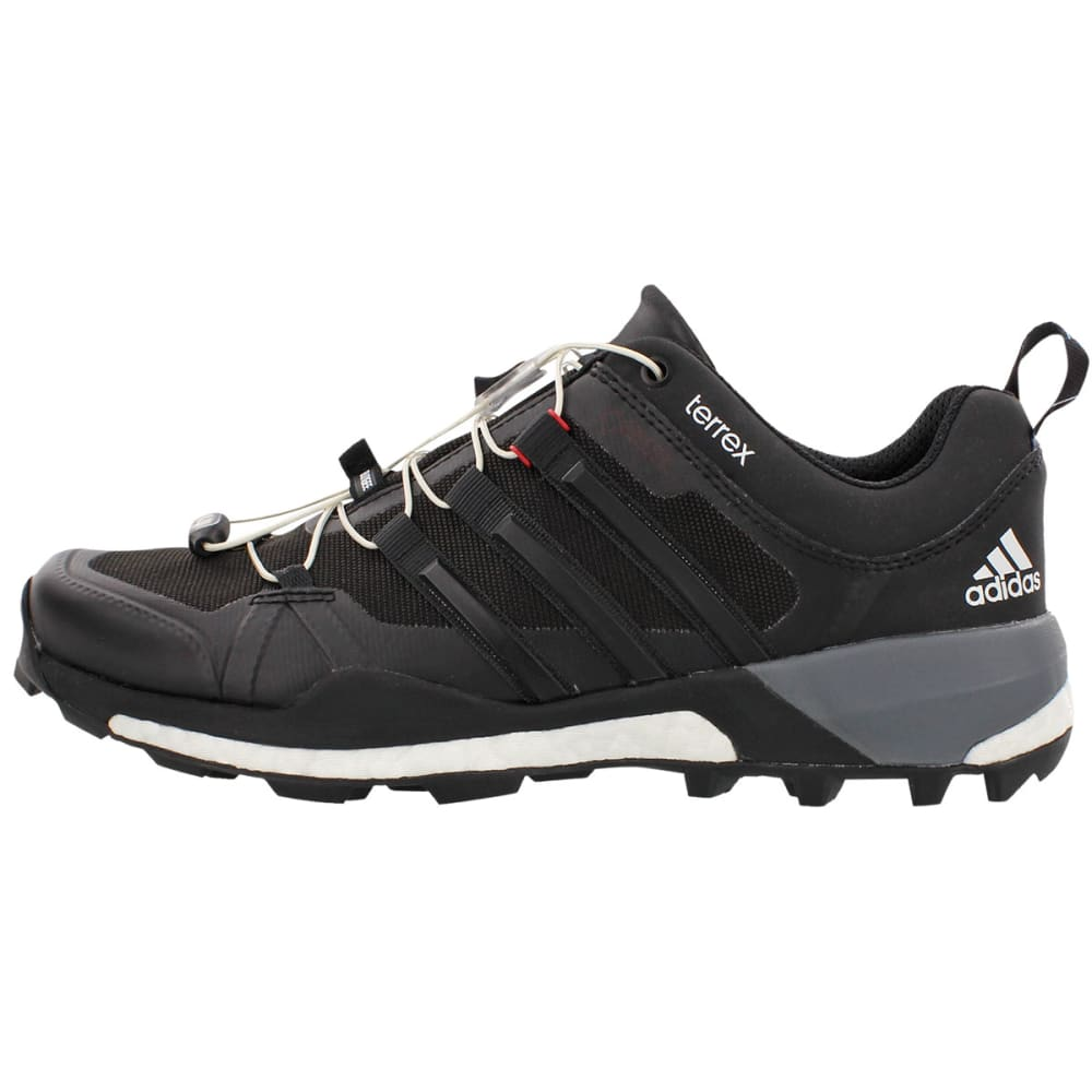 ADIDAS Men's Terrex Boost GTX Trail Running Shoes - BLK/WHT/VISTA GREY