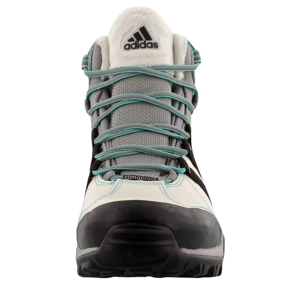ADIDAS Women's CH Winter Hiker II Boots - CHLK WHT/BK/VVMNT