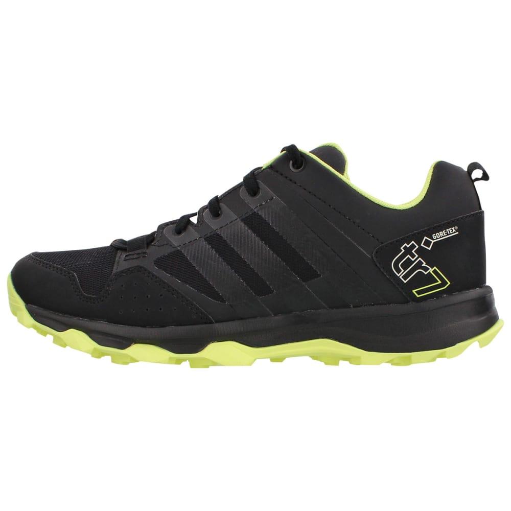 ADIDAS Women's Kanadia 7 Trail GTX Trail Running Shoes, Black/Yellow/White - BLK/YLW/ CHLK WHT