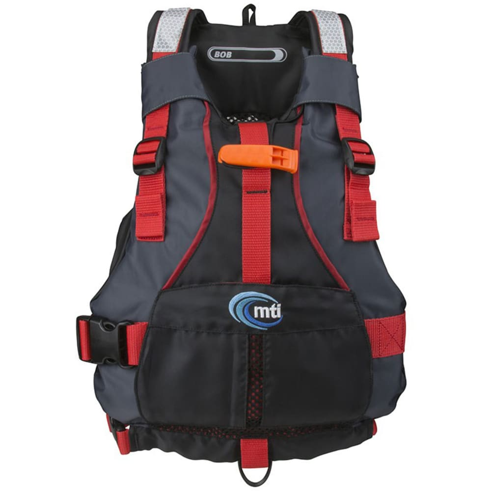 MTI Kids' Bob PFD - BLACK/RED