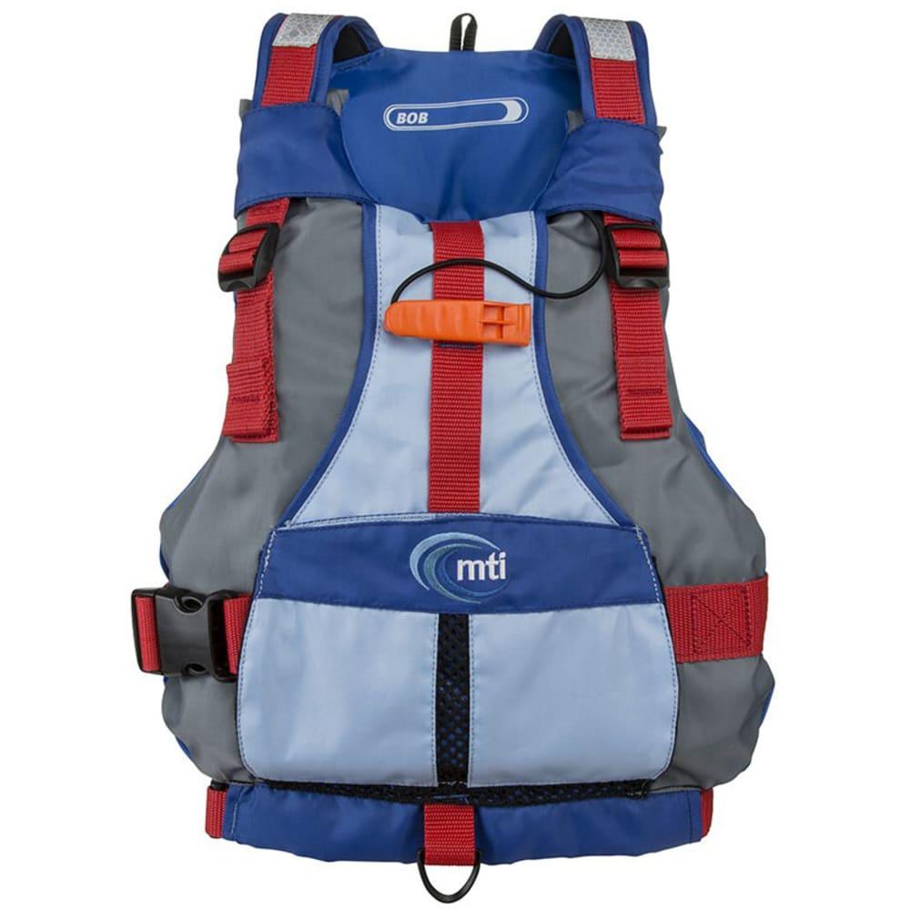 MTI Kids' Bob PFD - LIGHT GREY/BLUE