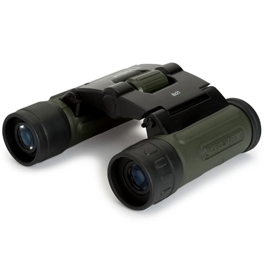 CELESTRON NPF 8 x 21 Binoculars - BLACK