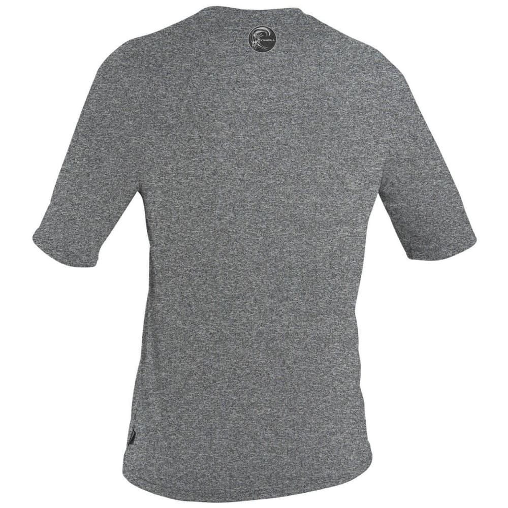 O'NEILL Men's 24-7 Hybrid Short-Sleeve Surf Shirt - SMOKE-189