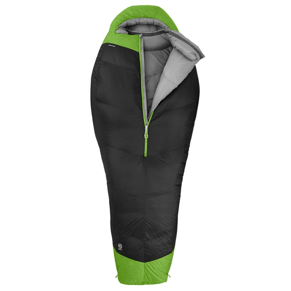 THE NORTH FACE Inferno 0° Sleeping Bag, Long  - ASPHALT GREY/GREEN