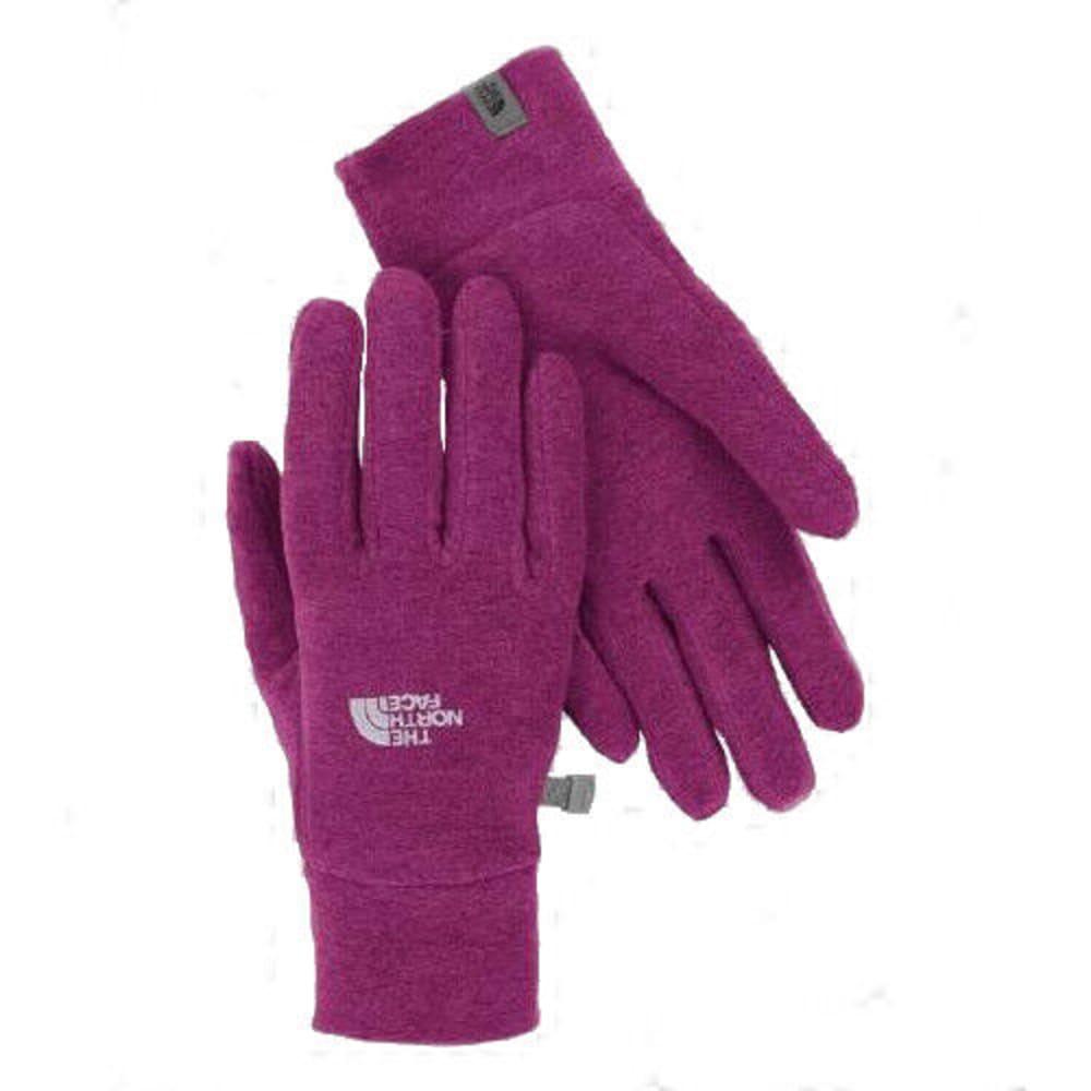 THE NORTH FACE Men's TKA 100 Glacier Gloves - Dramatic Purple HTR