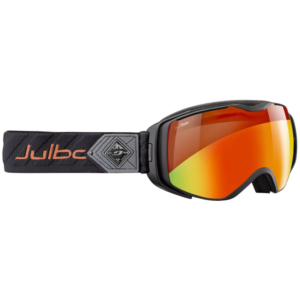 JULBO Universe Goggles with Snow Tiger Lens, Black/Red XL