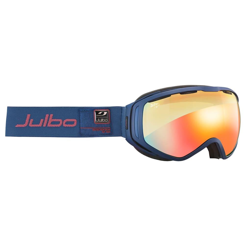 JULBO Titan OTG Goggles with Zebra Light Lenses - NAVY
