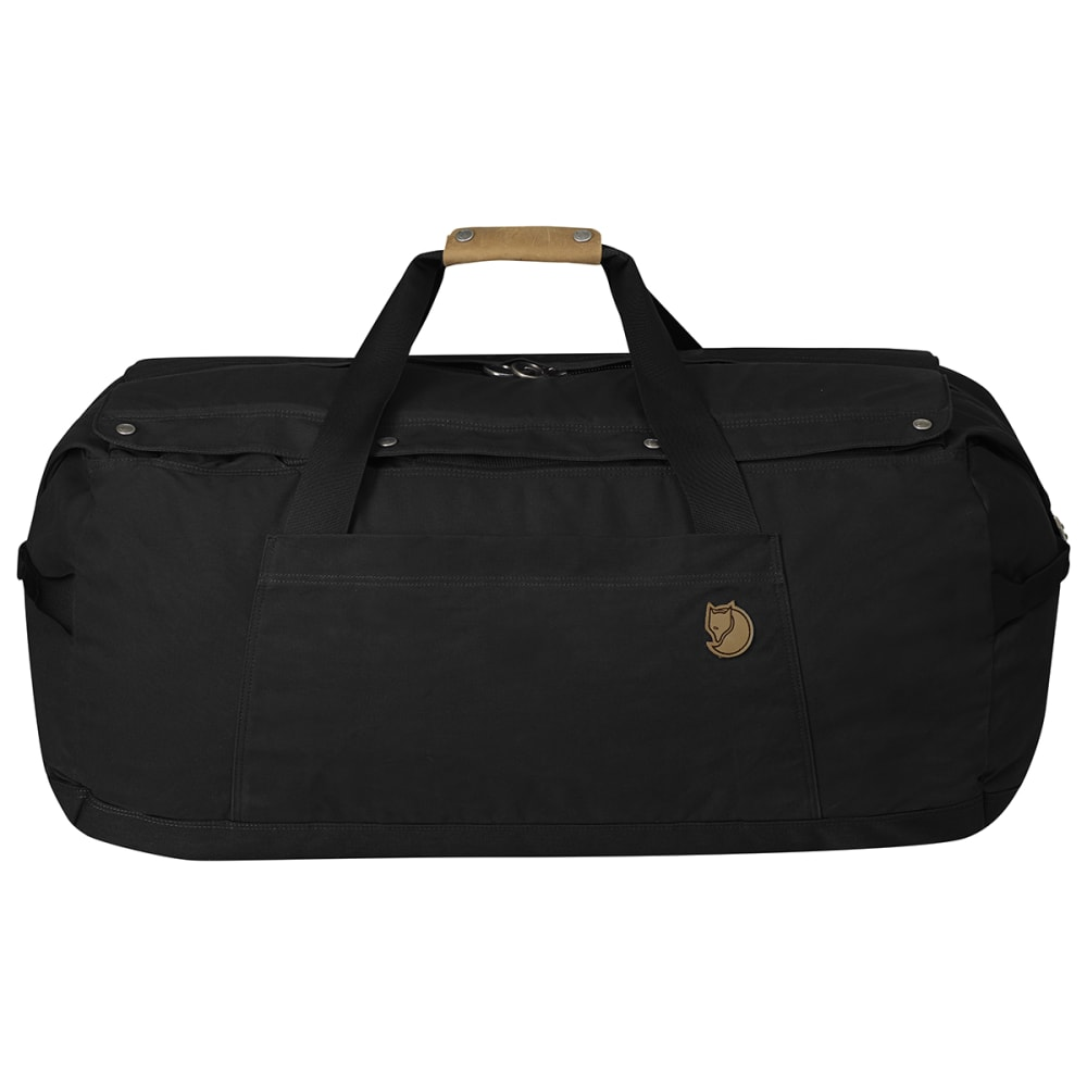 FJALLRAVEN Duffel No. 6, Large - BLACK 550