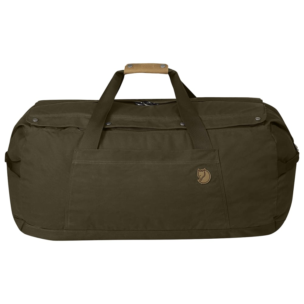 FJALLRAVEN Duffel No. 6, Large - DARK OLIVE 633