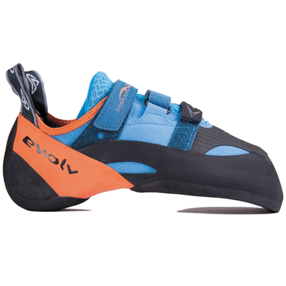 EVOLV Shaman Climbing Shoes - BLUE/ORANGE