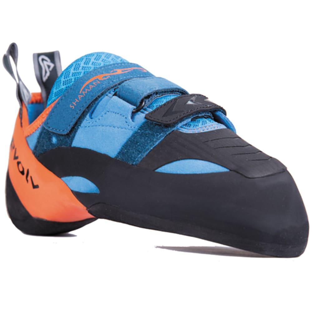 EVOLV Shaman Climbing Shoes - BLUE/ORANGE