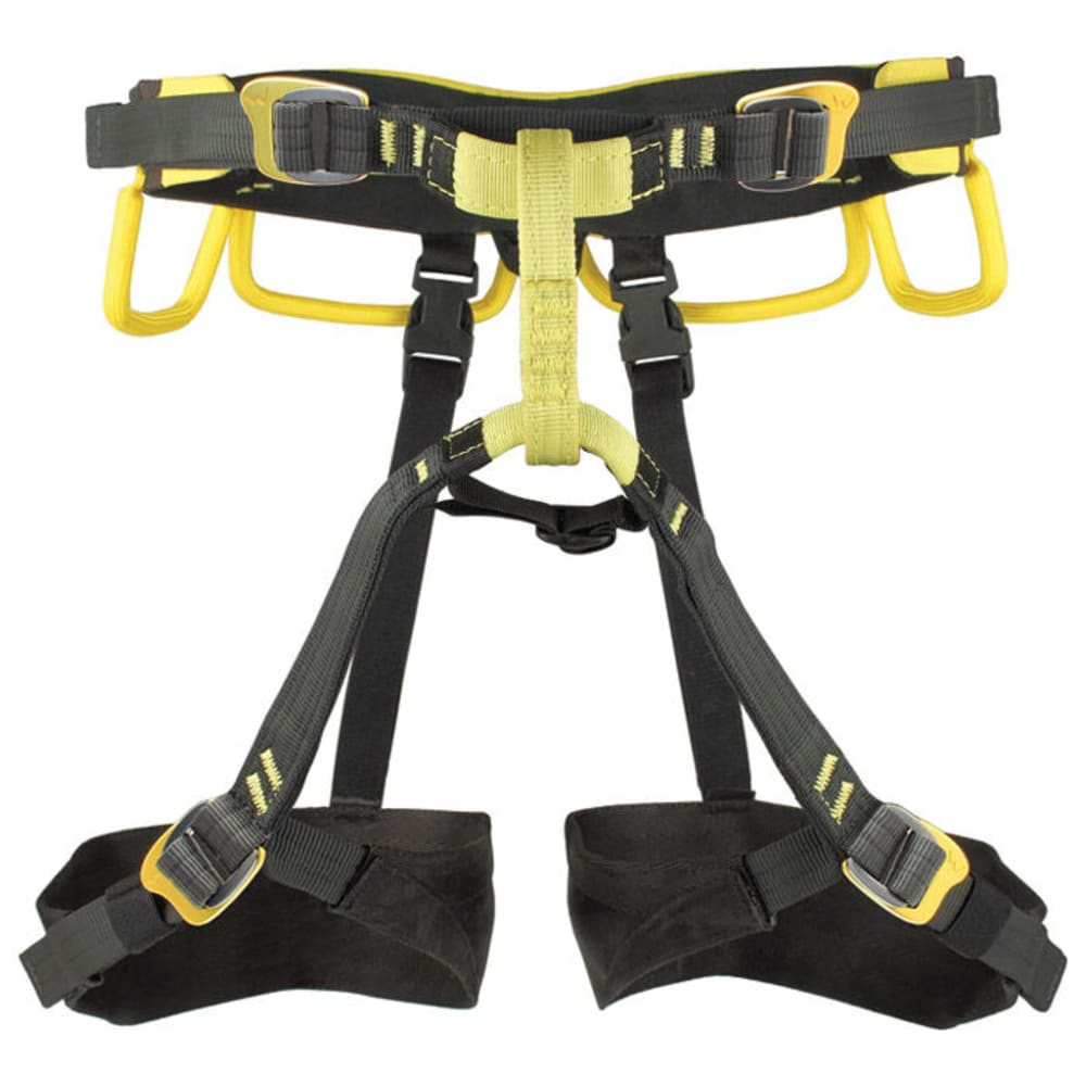 GRIVEL Poseidon Harness, L/XL - BLACK/YELLOW