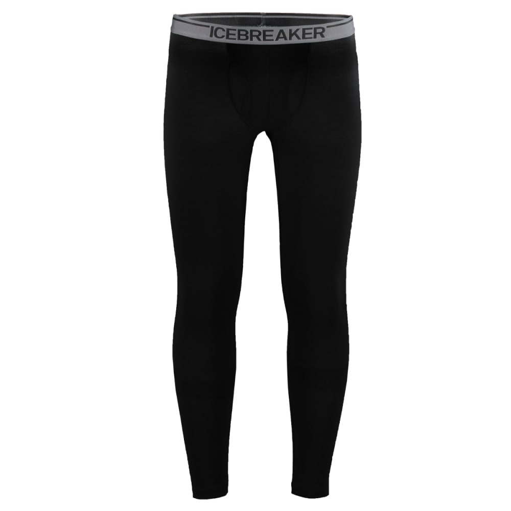 ICEBREAKER Men's Anatomica Leggings with Fly - BLACK/MONSOON