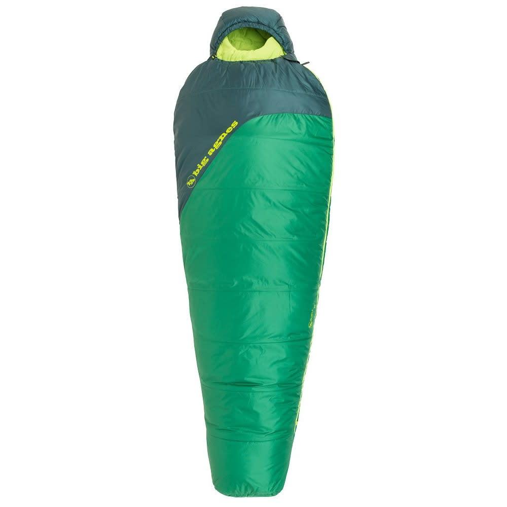 BIG AGNES Buell 30 Sleeping Bag, Regular - AMAZON/PINE