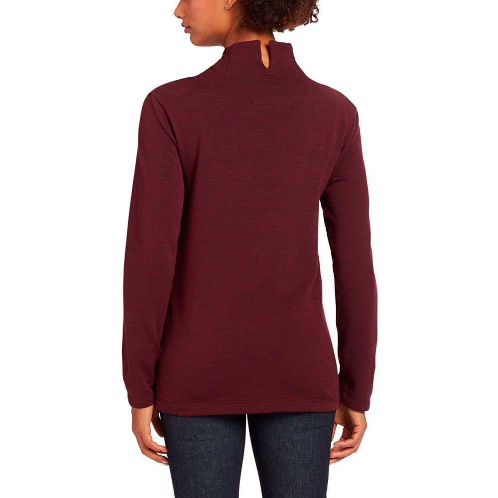 NAU Women's Randygoat Pullover - ADOBO HEATHER