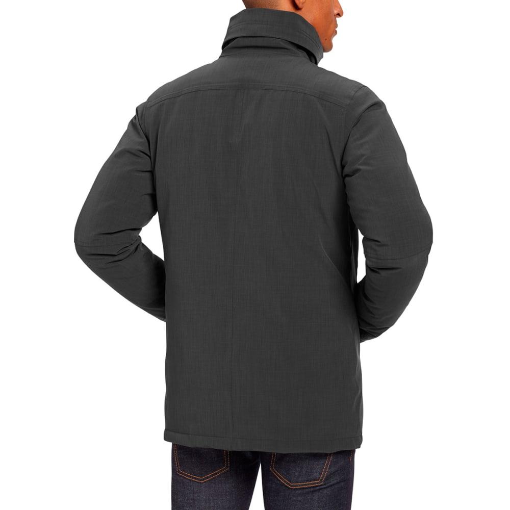 NAU Men's Blazing Down Jacket - CAVIAR HEATHER