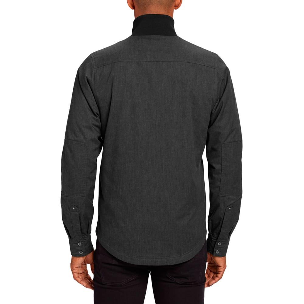 NAU Men's Utility Workshirt - CAVIAR HEATHER