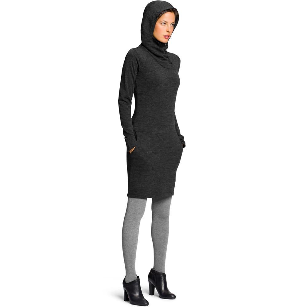 NAU Women's Randygoat Dress - CAVIAR HEATHER