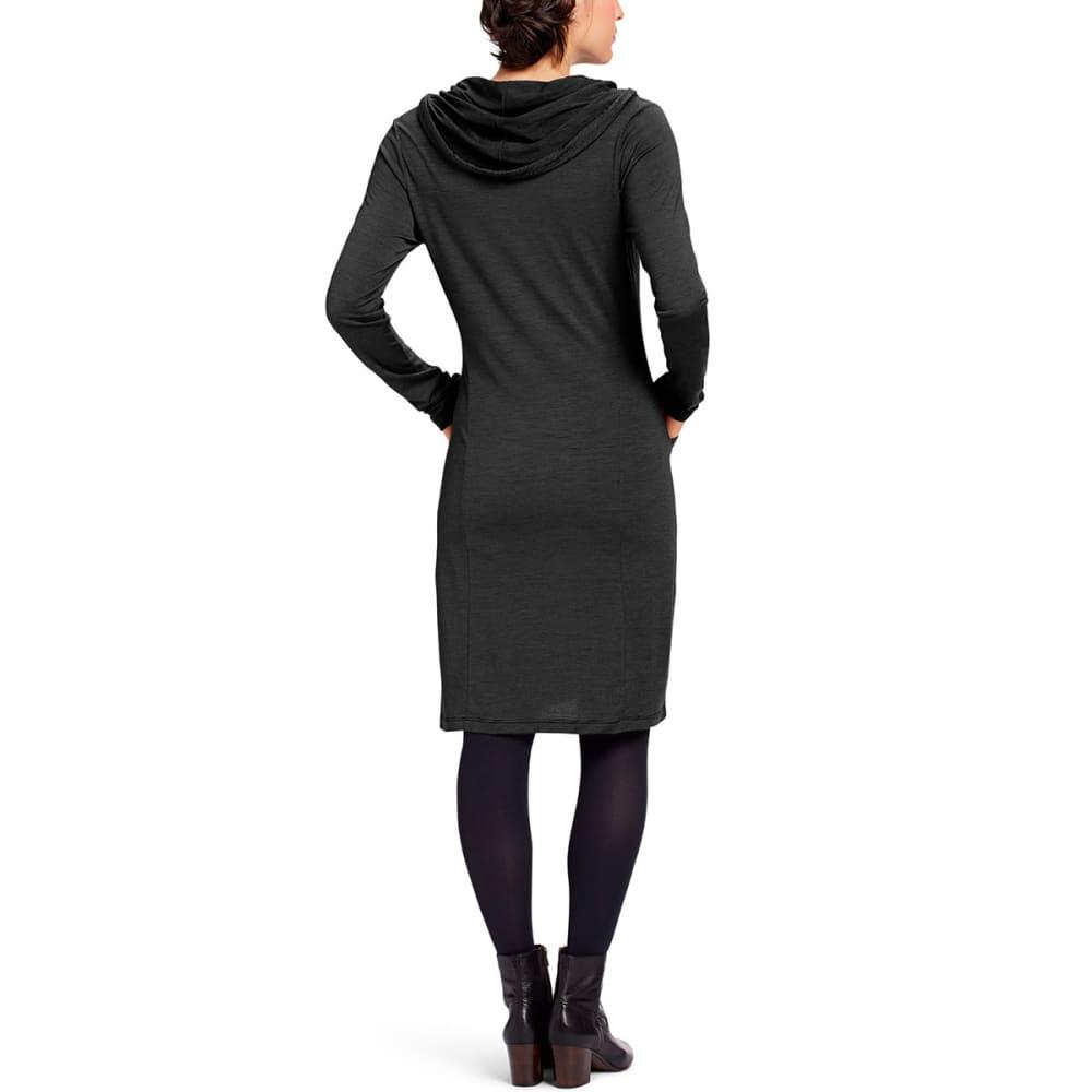 NAU Women's M2 Long-Sleeve Hoodress - CAVIAR STRIPE