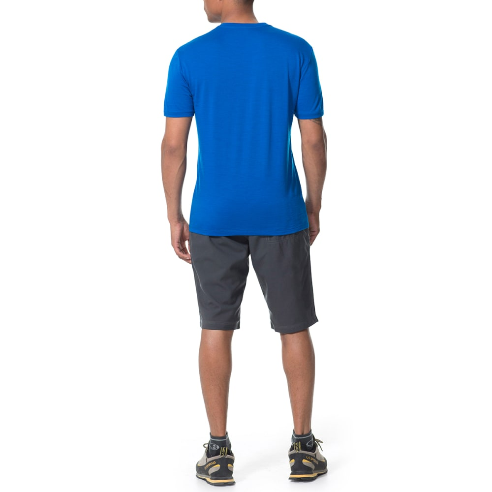 ICEBREAKER Men's Tech Lite Short-Sleeve  Crewe, Approach - AWESOME