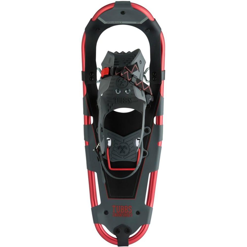 TUBBS Men's Journey 25 Snowshoes - RED/GREY