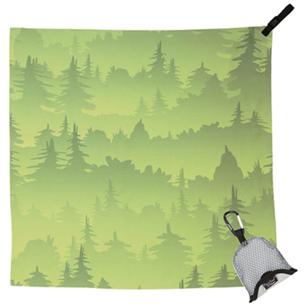 PACKTOWL Nano - GREEN TREES 09270