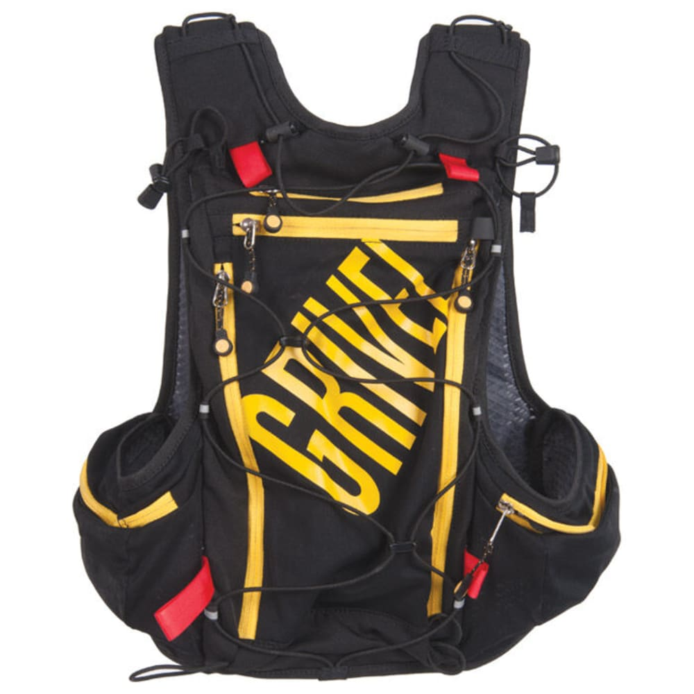Grivel Mountain Runner 12 Trail running backpack Black Yellow | 12 l