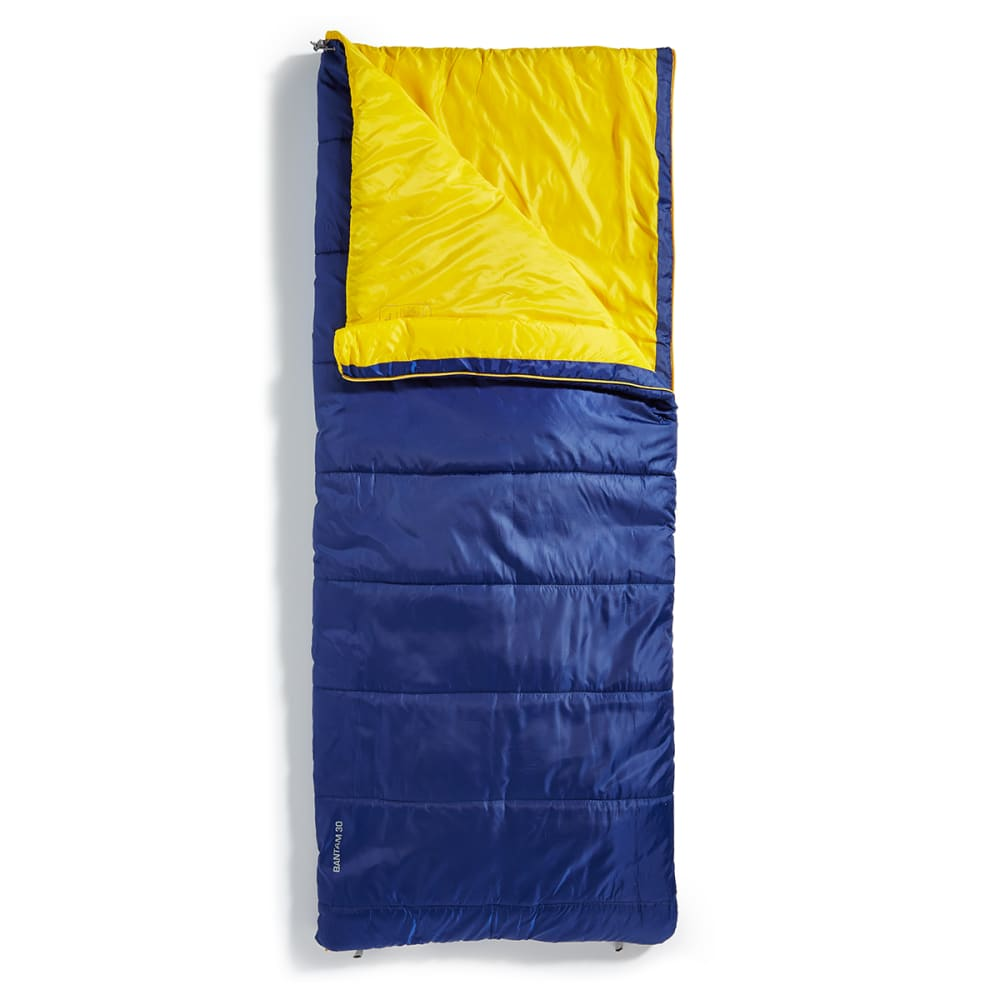 EMS Bantam 30 Degree Rectangular Sleeping Bag, Short - BLUE DEPTHS