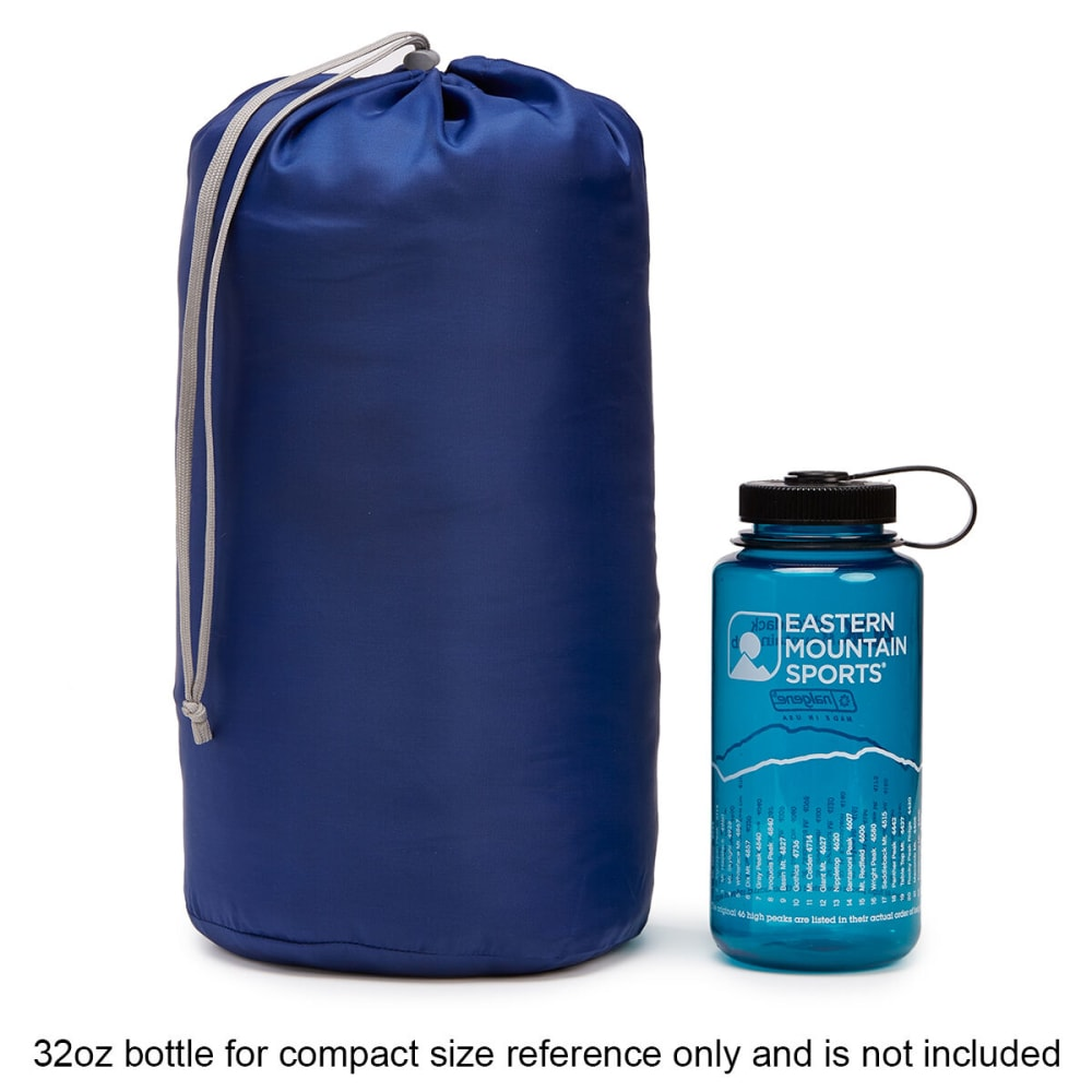 EMS Bantam 30 Degree Mummy Sleeping Bag, Long - BLUE DEPTHS