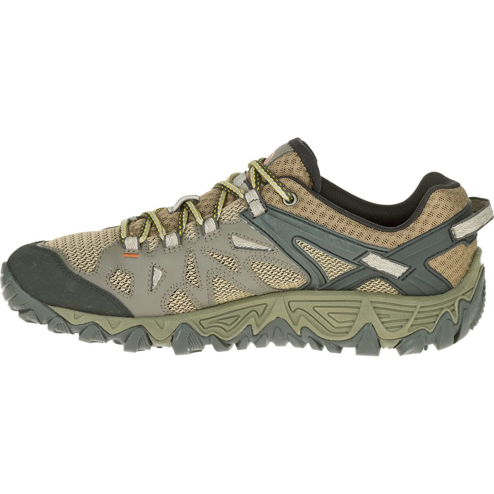 MERRELL Men's All Out Blaze Aero Sport Hiking Shoes, Khaki - KHAKI