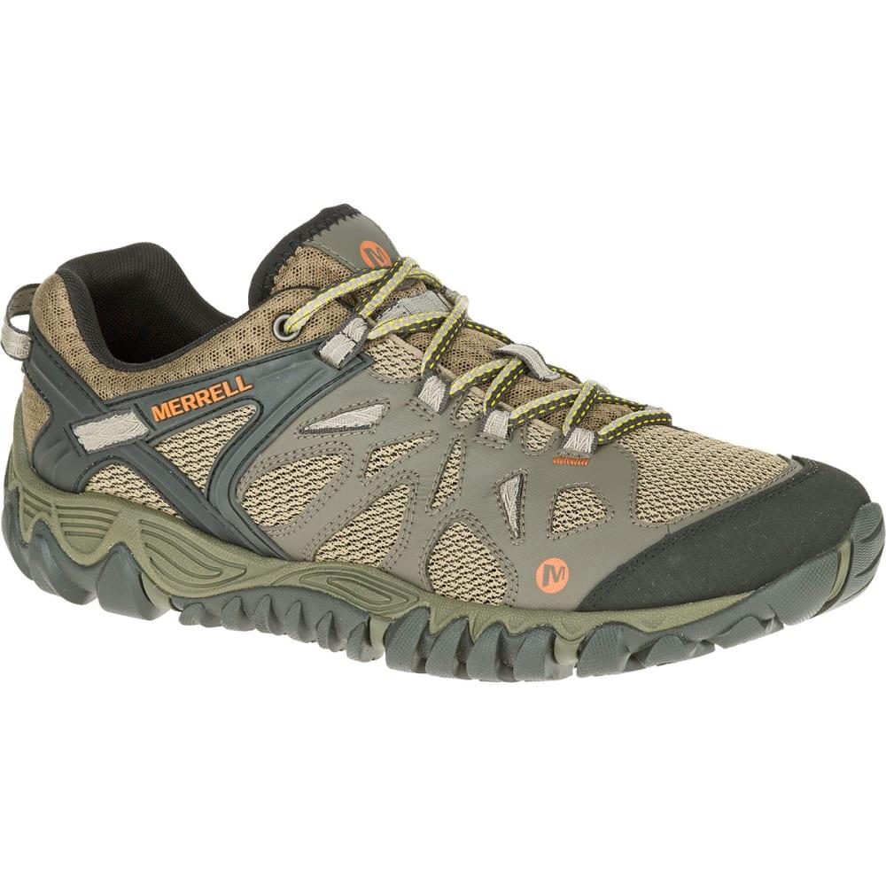 MERRELL Men's All Out Blaze Aero Sport Hiking Shoes, Khaki - KHAKI