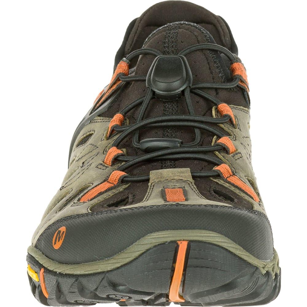 MERRELL Men's All Out Blaze Sieve Hiking Shoes, Light Brown - LIGHT BROWN