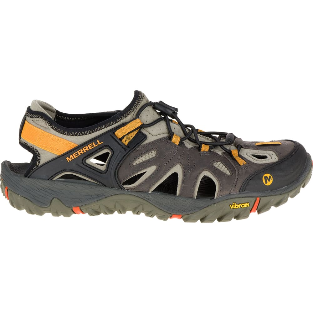 MERRELL Men's All Out Blaze Sieve Hiking Shoes, Grey - GREY
