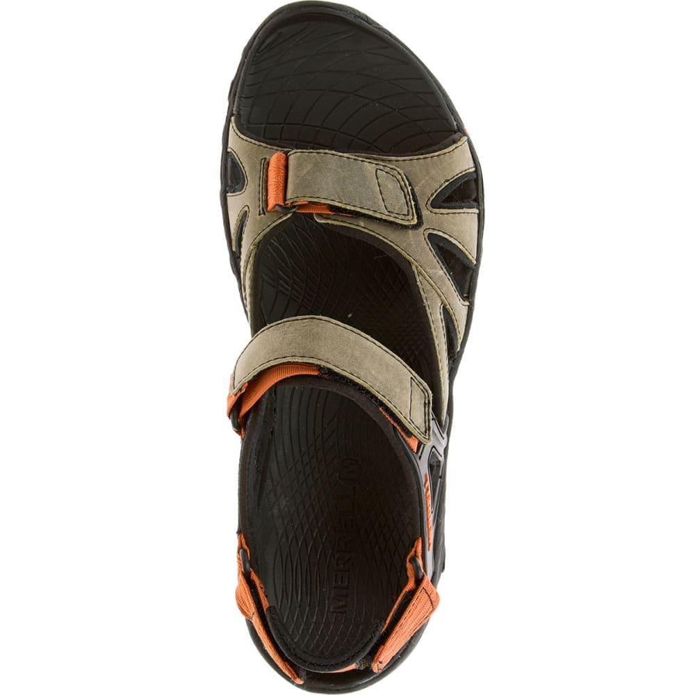 MERRELL Men's All Out Blaze Sieve Convertible Sandals, Light Brown - LIGHT BROWN