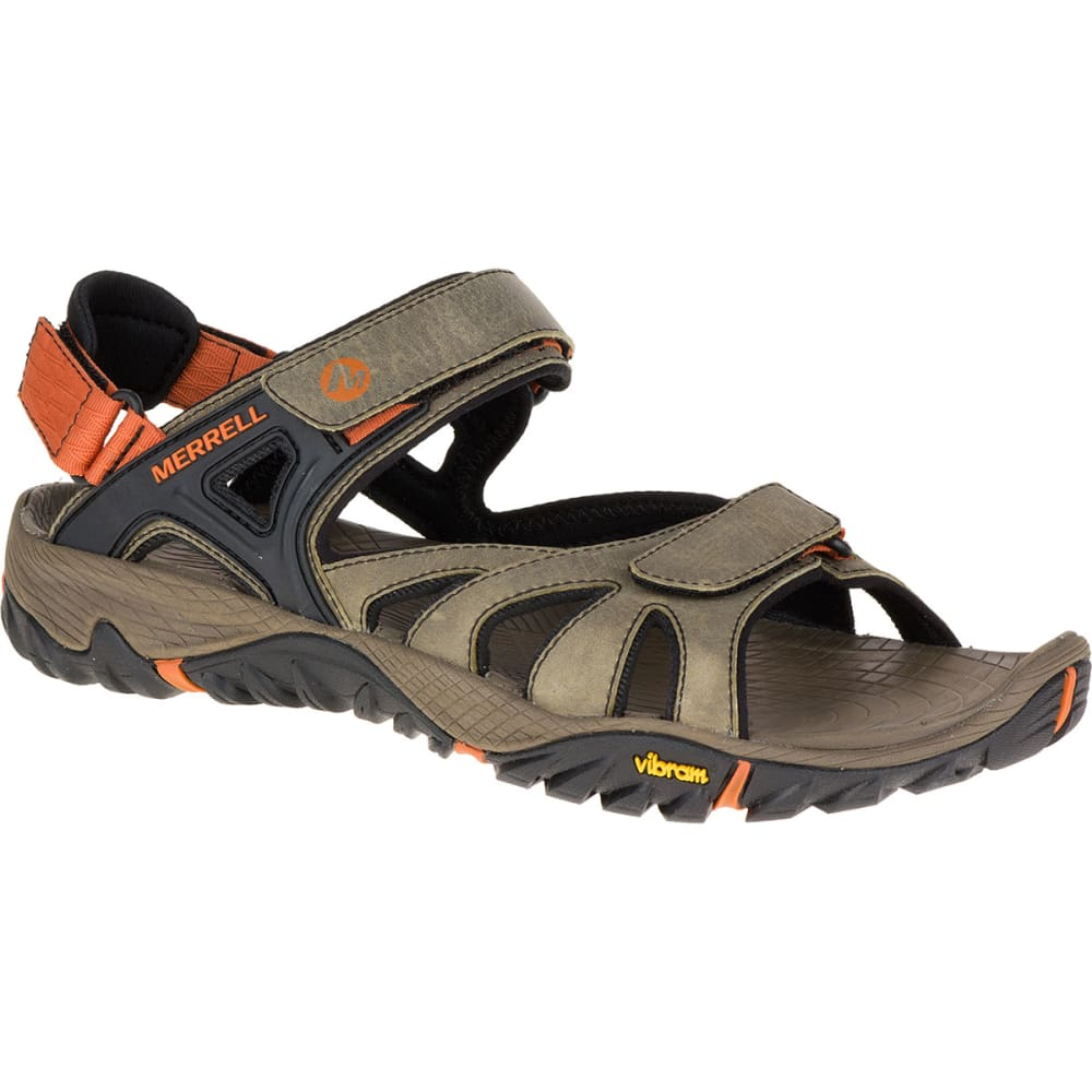 MERRELL Men's All Out Blaze Sieve Convertible Sandals, Light Brown - LIGHT BROWN