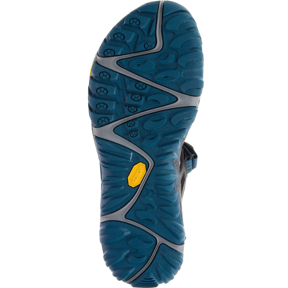 MERRELL Men's All Out Blaze Sieve Convertible Sandals, Grey - GREY
