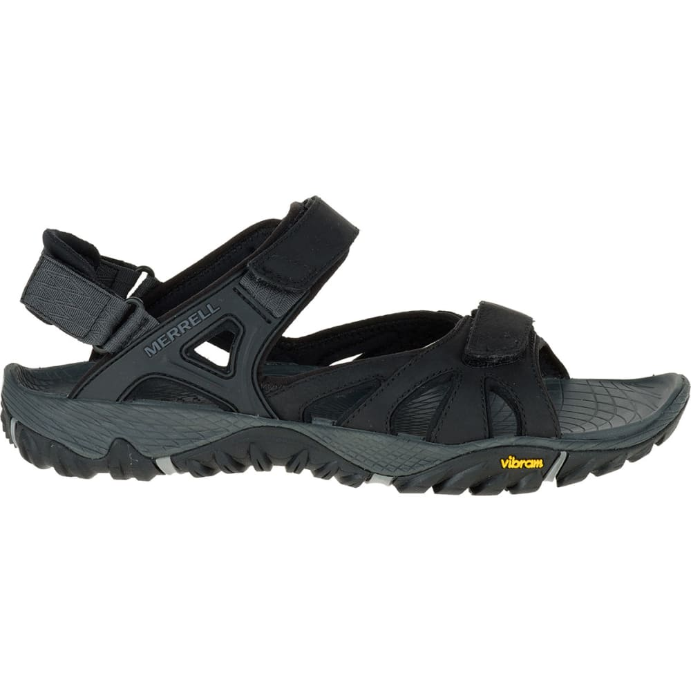 MERRELL Men's All Out Blaze Sieve Convertible Sandals, Black - BLACK