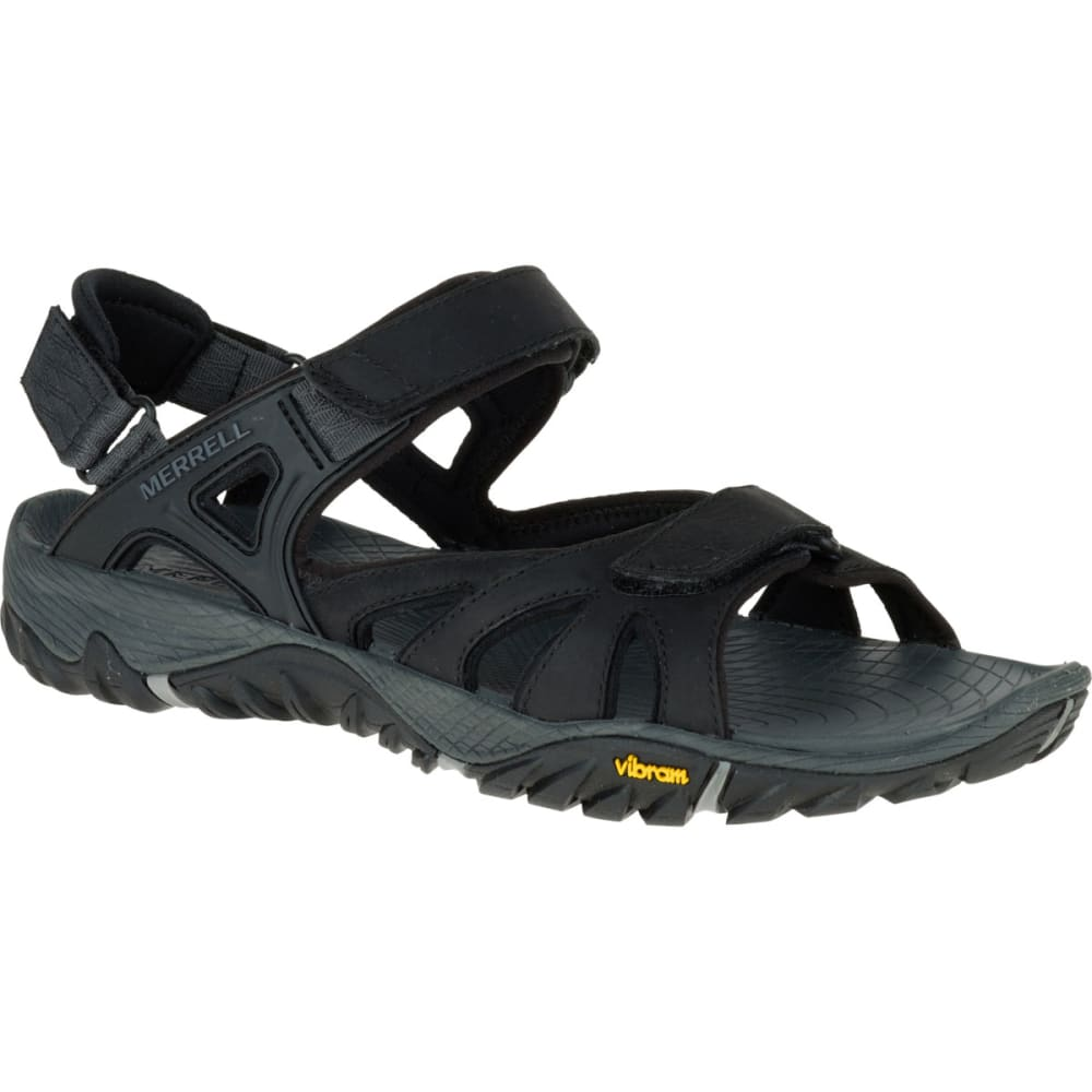MERRELL Men's All Out Blaze Sieve Convertible Hiking Sandals - BLACK