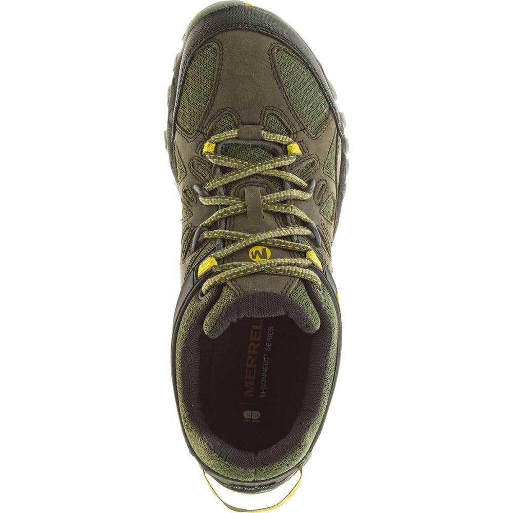 MERRELL Men's All Out Blaze Ventilator Hiking Shoes, Olive - OLIVE
