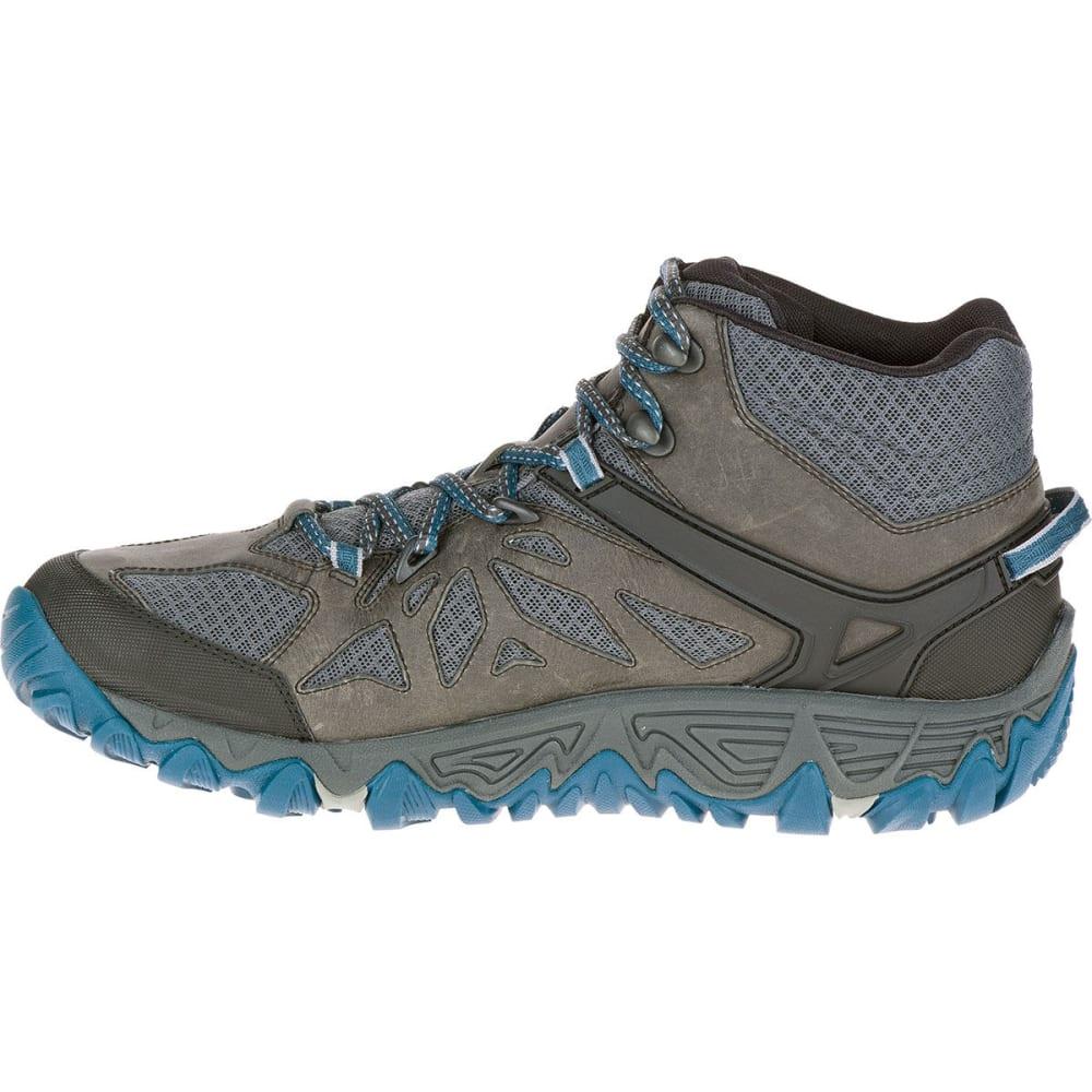 MERRELL Men's All Out Blaze Ventilator Mid Waterproof Hiking Boots, Grey Multi - GREY/MULTI