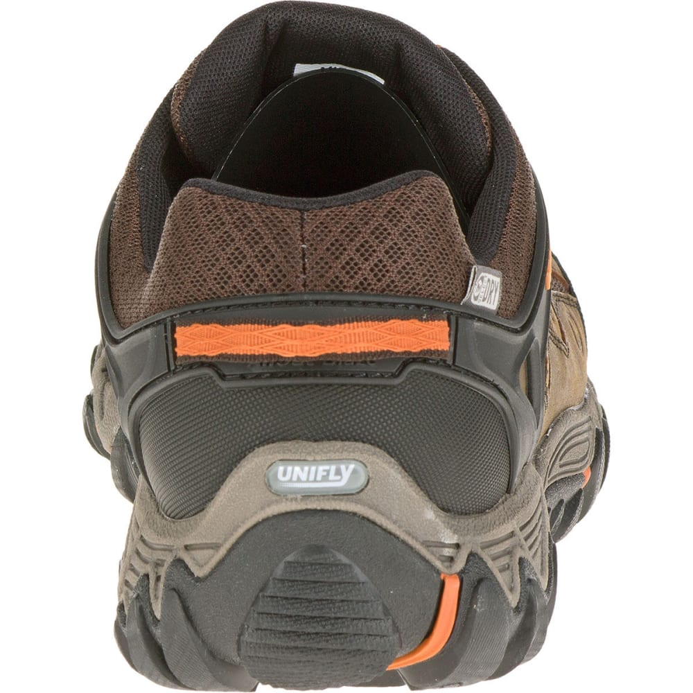 MERRELL Men's All Out Blaze Ventilator Waterproof Hiking Shoes, Burnt Maple - BURNT MAPLE